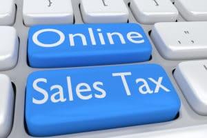 Onlinine sales tax