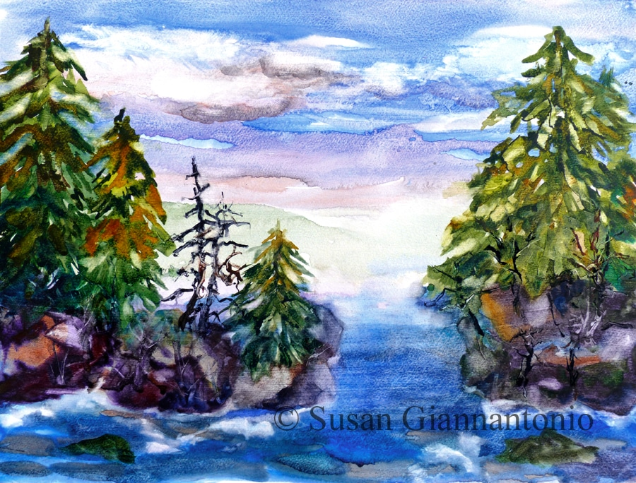 Woodland Seaside Fantasy
