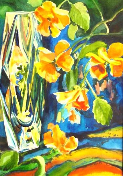 Cezanne's Pansies