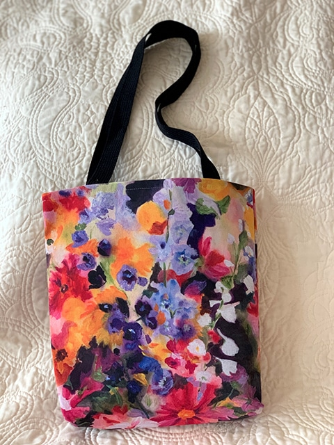 Annuals Overture Tote with Black Handle