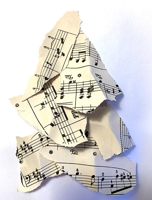 Music Notecards (4 pack)